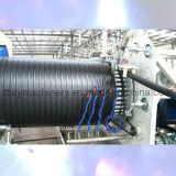 Linha de produção da tubulação do enrolamento da parede da cavidade do grande diâmetro do HDPE