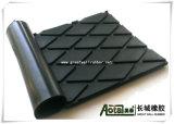 안정되어 있는 매트, 고무 암소 매트, 고무 암소 마루, ISO9001를 가진 고무 장
