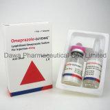 Injeção de Omeprazole 20mg da medicina geral para Gastrohelcosis e ácido de estômago
