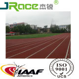 Het rubber Materiaal van de Renbaan en Atletisch Spoor Iaaf voor de Bevloering van het Stadion van de Sport