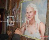 Portrait (2) peinture à l'huile
