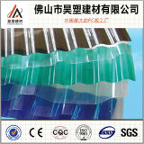 a fábrica de 1.8mm China dirige 840 930 1050 policarbonato corrugados telhando a folha para a estufa e a vertente da criação de animais