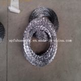 Колючая проволока бритвы нержавеющей стали