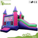 Bouncer gonfiabile poco costoso commerciale di vendita calda, castello rimbalzante di salto con la trasparenza
