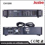 Jusbe CH1200 2チャネル1200With8ohm 1800With4ohmのステレオの段階の可聴周波サウンド・システムPAのアンプ