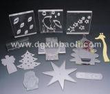 Acrylic décoré Christmas Gift Mirror pour Cosmetic