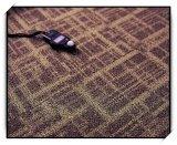 Tuiles de tapis, tapis de bureau, tapis tufté, mur pour murer le tapis