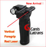 Torcia elettrica rossa di caccia tattica Cl15-0021 della pinsa del laser di Airsoft