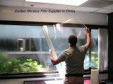 Película de segurança à prova de explosões desobstruída transparente para a porta de vidro de deslizamento