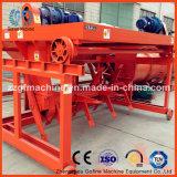 Máquina de Turner del estiércol vegetal de la basura orgánica
