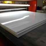 roulis rigide blanc de feuille de PVC de plastique de 0.45mm Matt pour l'impression offset UV