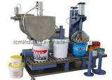 Máquina de enchimento semiautomática altamente precisa para a pintura & o revestimento