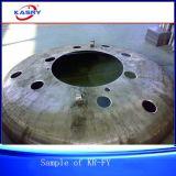 Cortadora biselada del CNC del pórtico Kr-Fy para el casquillo del recipiente del reactor