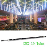Tubo vertical IP65 del disco KTV RGB LED DMX