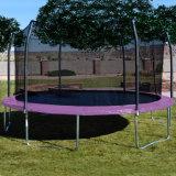 グループの楽しみのための外のネットが付いている優れた楕円形のトランポリン