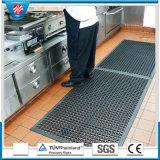 Stuoie di gomma di anti slittamento impermeabile di drenaggio dei fori, stuoie antiscorrimento della cucina