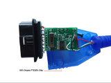 VAG Kkl de Kenmerkende Kabel van het Aftasten OBD van ECU van Com 409+ FIAT voor de Auto's van Audi/van de Zetel/van VW
