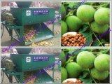 Écaillement vert frais de noix écossant la machine de cosse
