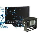 7 monitor de visualización impermeable de color de Slipt TFT-LCD del patio de la pulgada