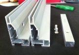 Rectángulo ligero de aluminio de la tela LED del LED con talla modificada para requisitos particulares
