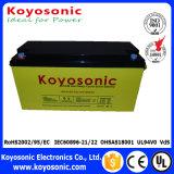 batterie solaire de batterie de panneau solaire de 12V 130ah pour le côté de pouvoir