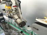 Сплющенная машина для прикрепления этикеток сторон предмета 2 для чашек верхней части и стороны