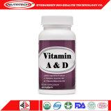 Pas Capsules van het Gel van D van de Vitamine A de Zachte met Privé Etiket aan