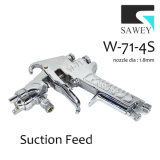 Sawey W-71-4s 수동 손 페인트 분무 노즐 전자총
