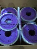 0.6mm Wakaymaの機械装置(YY-665)のための白いPBTの車輪のブラシ