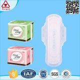 Le coton remplaçable de marque d'OEM s'envole la garniture sanitaire de serviette hygiénique
