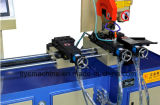 Автомат для резки пробки нержавеющей стали Yj-325CNC гидровлический голубой