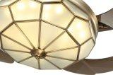Среднеземноморской светильник вентилятора потолка типа с спрятанными лезвиями