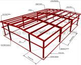 Almacén pesado de gama alta de la estructura de acero del marco del espacio de estructura para Benin