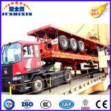40FTの3車軸FuwaまたはBPWの車軸およびWabco弁が付いている骨組容器シャーシ半30.5トンのトラックのトレーラーの