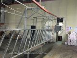 Овальный стальной поручень руки покрытия порошка пробки для лестницы школы