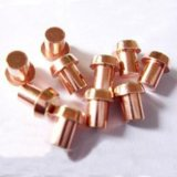 Remache inmóvil principal plano bimetálico eléctrico del contacto de la aleación de plata