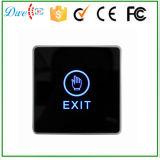 12V LED Botón de salida del interruptor táctil para el sistema de control de acceso de la puerta