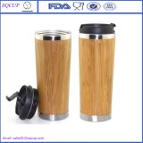 環境に優しく熱いSale 100%年のNon-Toxic Unique Bamboo MugかCoffeeのためのWooden Travel Mug /Stainless Steel Bamboo Mug