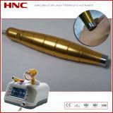 Terapia de baixo nível do laser para a acupuntura da ferida e das úlceras