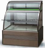 Надежная коммерчески витрина холодильника торта индикации