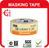 Горячая лента для маскировки таможни бумаги Crepe продукта