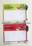 Magnete di carta Writeboard del frigorifero con la penna cancellabile del feltro