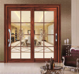Раздвижная дверь профиля 6063-T5 алюминиевого сплава конструкции решетки