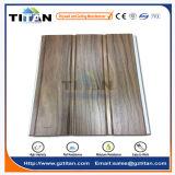 Scanalatura di legno laminata laminata del grano del comitato di soffitto del PVC