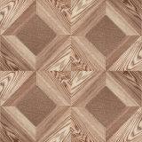 Le son d'érable de vinyle a ciré le plancher en stratifié en bois en bois stratifié bordé