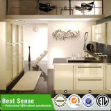 素晴らしく簡単で白い台所家具中国