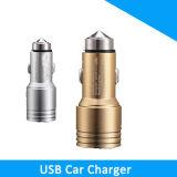 携帯電話の使用および車の充電器のタイプUSB Iの電話5V 2.4A 2ポートUSB車の充電器