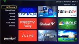 GroßhandelsGlobal IPTV Set Top 1080P Android Fernsehapparat Box