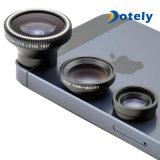 Lente granangular de pescados de ojo de la lente macra desmontable magnética universal de la lente