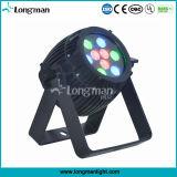 옥외 세륨 9*3W RGB 920lumens LED 동위 백색 반점 점화